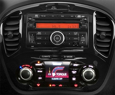 GPS car radio Nissan Juke